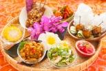 アジアン小皿料理の盛合せ