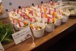 彩り野菜のカップサラダ