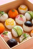 野菜の手まり寿司