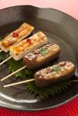 お豆腐とこんにゃくの味噌田楽