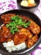 ベジミートの鶏チリソース風